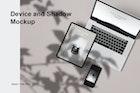 Device & shadow Mockup