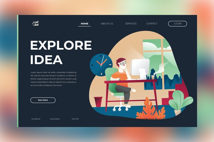 Thumbnail for Explore Idea Landing Page