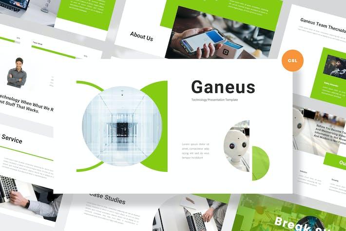 Thumbnail for Modern Technology Google Slides Template