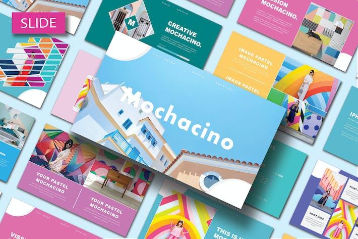 Thumbnail for MOCHACINO - Шаблон слайдов Google