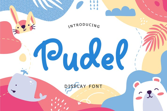 Thumbnail for Pudel Display Font