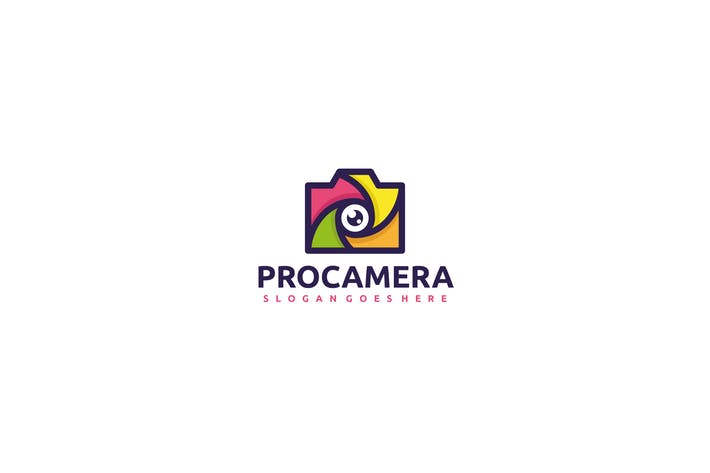 Thumbnail for Colorful Camera Logo