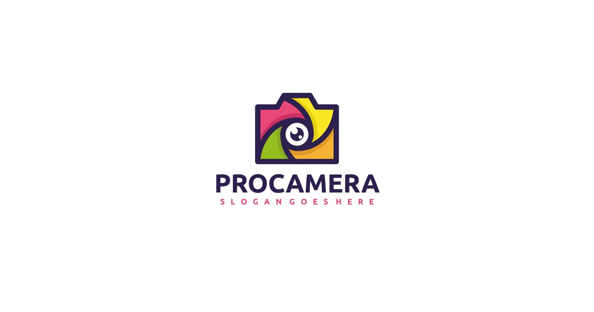 Download Colorful Camera Logo by 3ab2ou