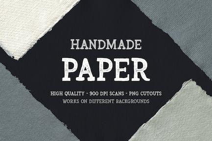 Handgefertigte Papierausschnitte