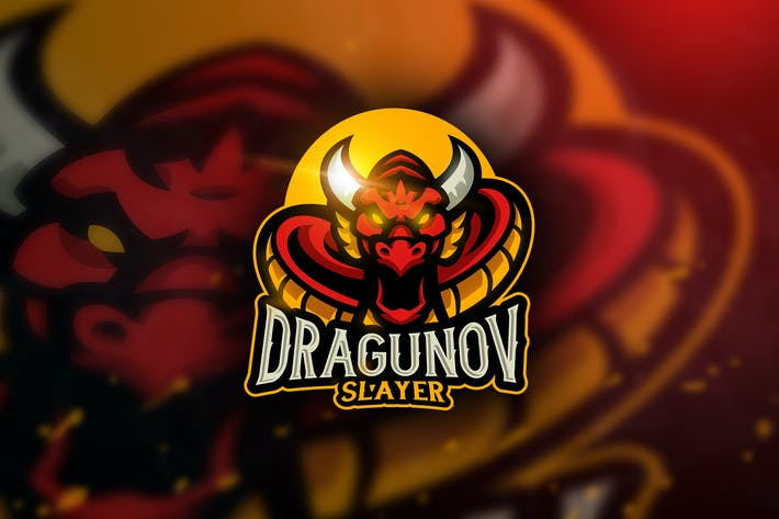 Thumbnail for Dragunov Slayer - Mascot & Esport Logo