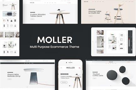 Moller - Furniture WooCommerce WordPress Theme