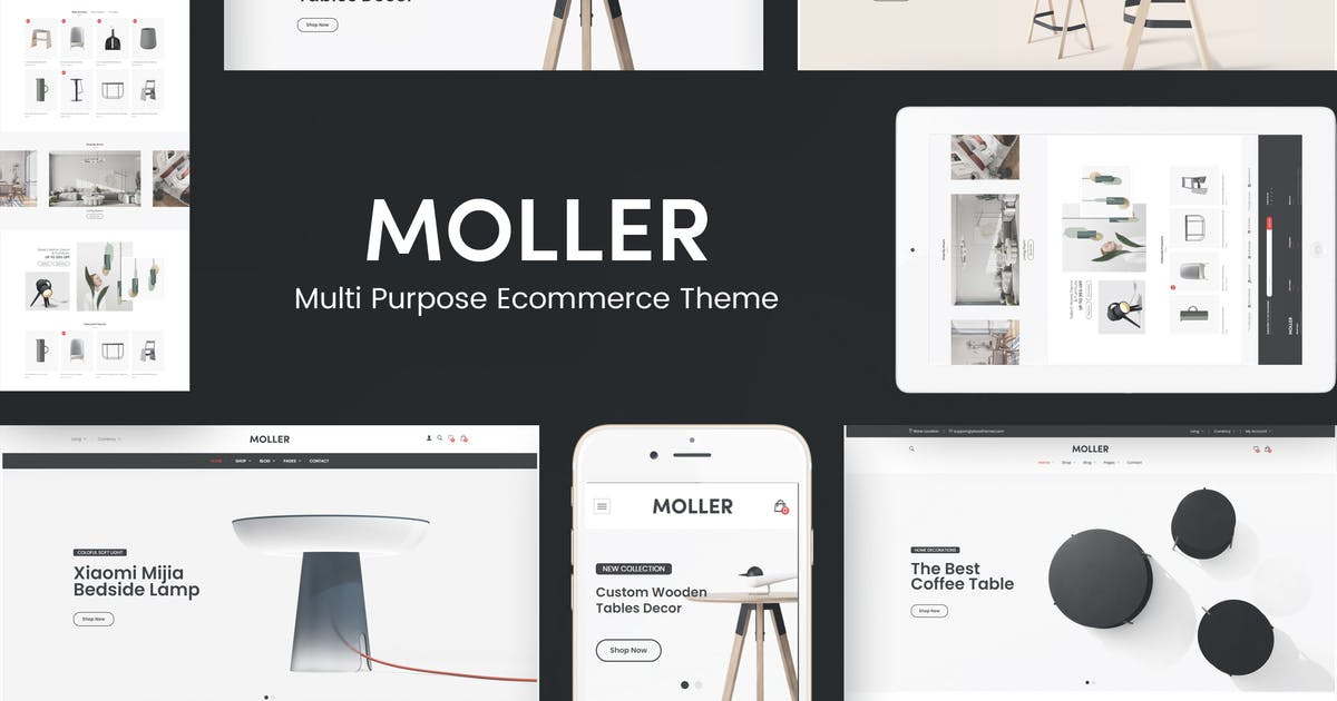 Download Moller - Furniture WooCommerce WordPress Theme by Plaza-Themes