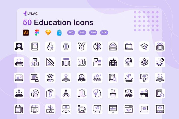 Lylac - Bildung-Symbole