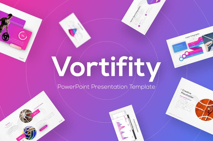 Thumbnail for Vortifity - Sport PowerPoint Vorlage