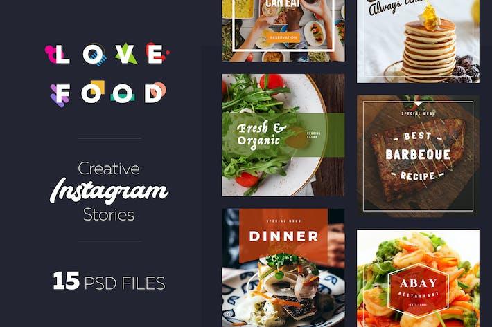 Instagram Food Lovers Banners
