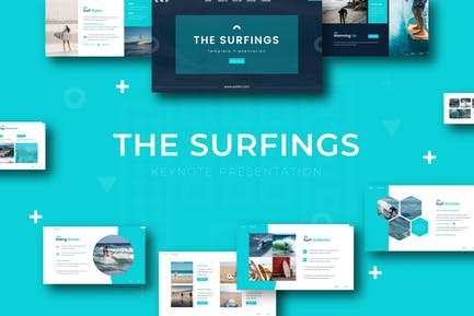 The Surfing - Keynote Template
