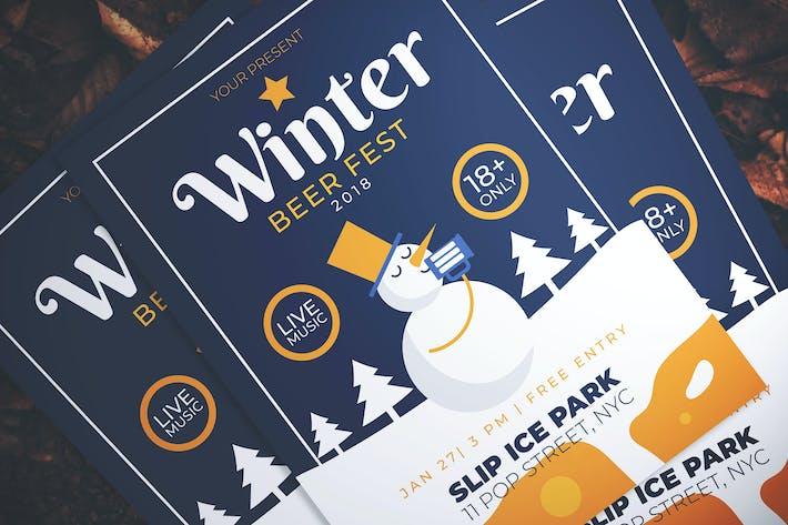 Thumbnail for Winter Beer Fest Flyer