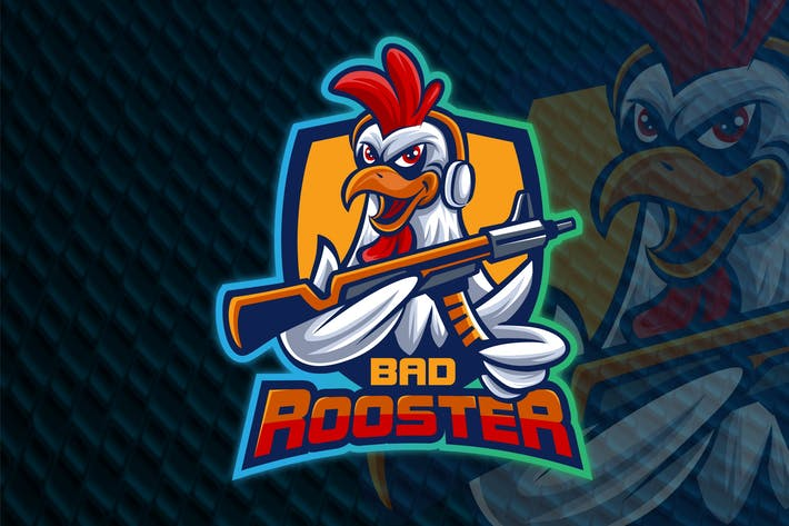Thumbnail for BAD ROOSTER - Esport Logo