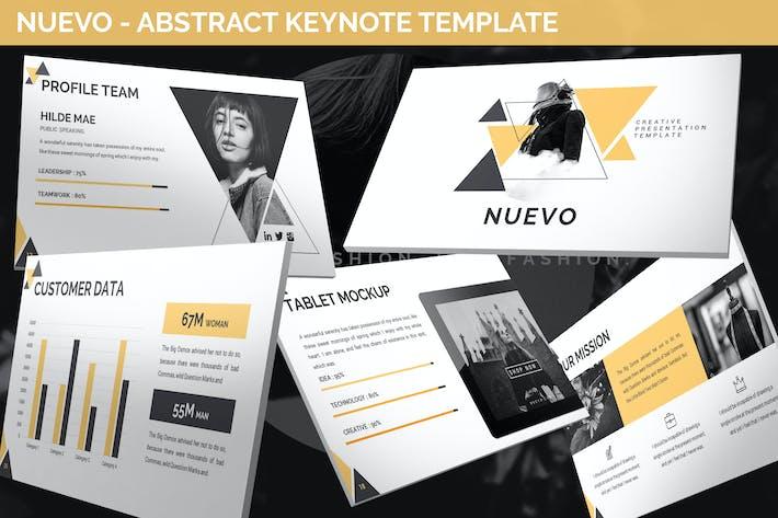 Nuevo - Abstract Keynote Template