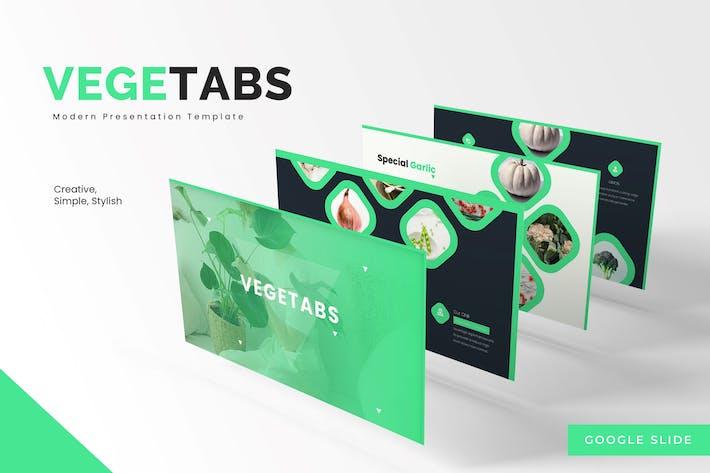 Vegetabs - Google Slides Template
