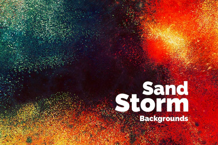 Thumbnail for Sand Storm Backgrounds