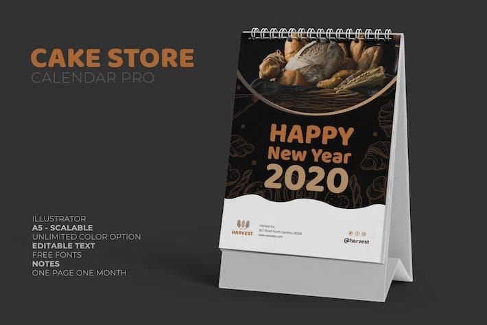 2020 Cake Store Kalender Pro