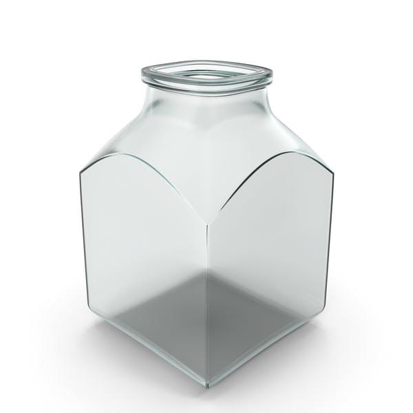 Thumbnail for Glas Quadratisches Glas Open