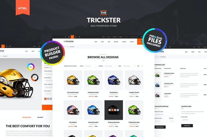 Thumbnail for The Trickster - Multipurpose HTML Store and Shop