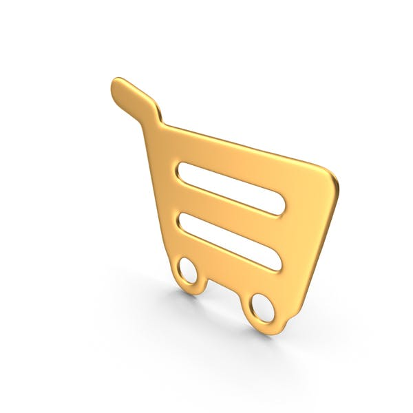 Cover Image for Shopping Cart Symbol Gold