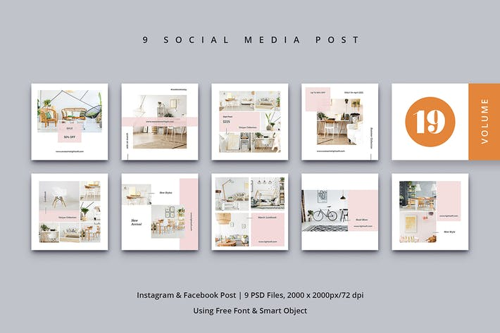 Thumbnail for Social Media Post Vol. 19