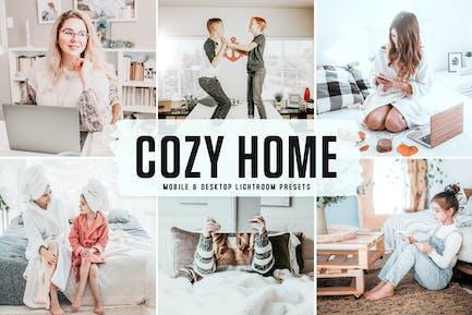 Cozy Home Mobile & Desktop Lightroom Presets