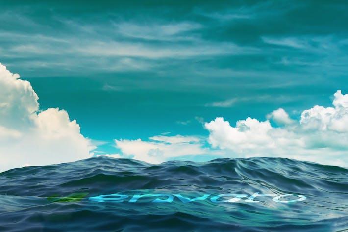 Thumbnail for Realistic Ocean Logo