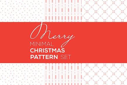 Merry Christmas Minimal Patterns