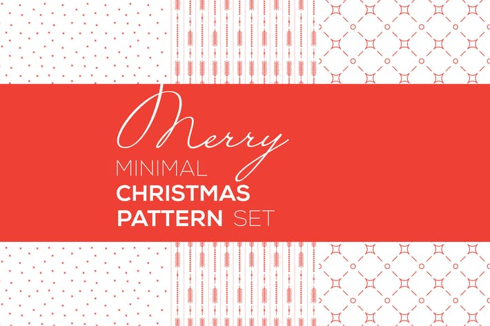 Thumbnail for Merry Christmas Minimal Patterns