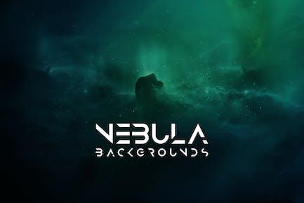 Cosmic Nebula Backgrounds