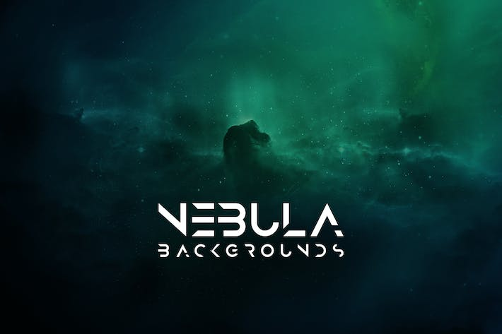 Cover Image For Cosmic Nebula Backgrounds