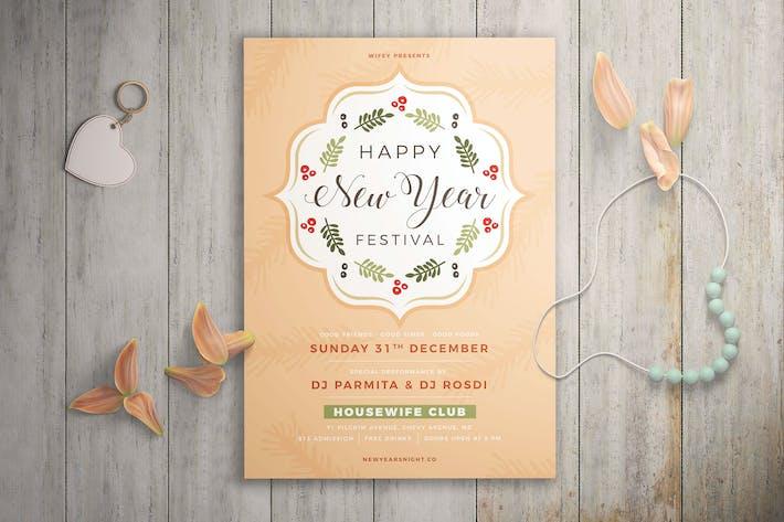 NeujahrsfestivalFlyer