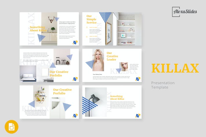 Thumbnail for Kilax - Creative Google Slides Template