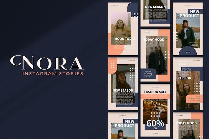 Nora Instagram Geschichten
