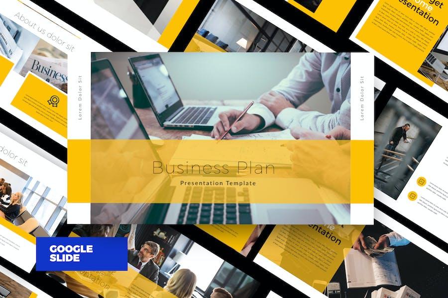 Business Plan Google Slide