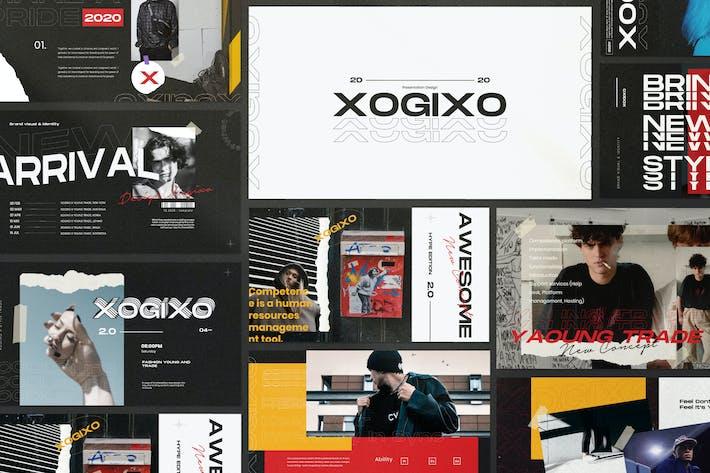 Thumbnail for XOGIXO - Городские творческие Powerpoint