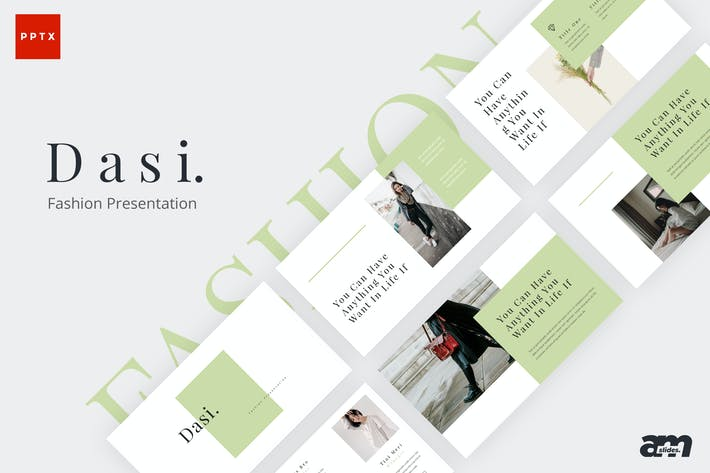 Cover Image For Dasi Fashion Powerpoint