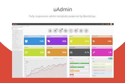 uAdmin - Bootstrap Admin Template