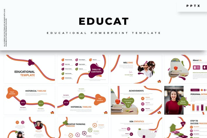 Thumbnail for Educat :: Education Powerpoint Template