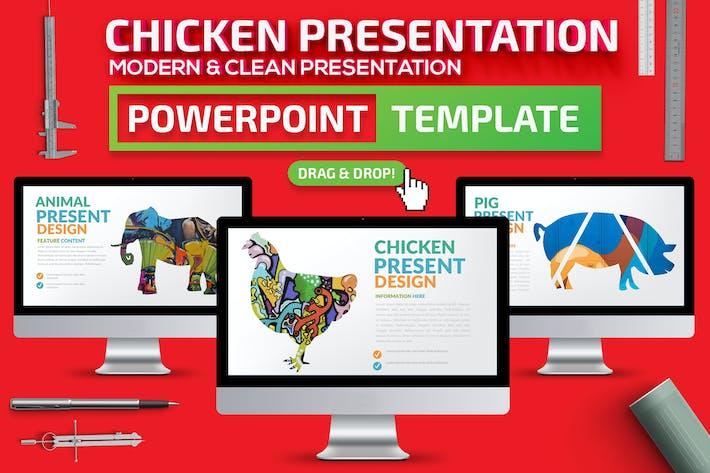 Презентация «Powerpoint» из курицы