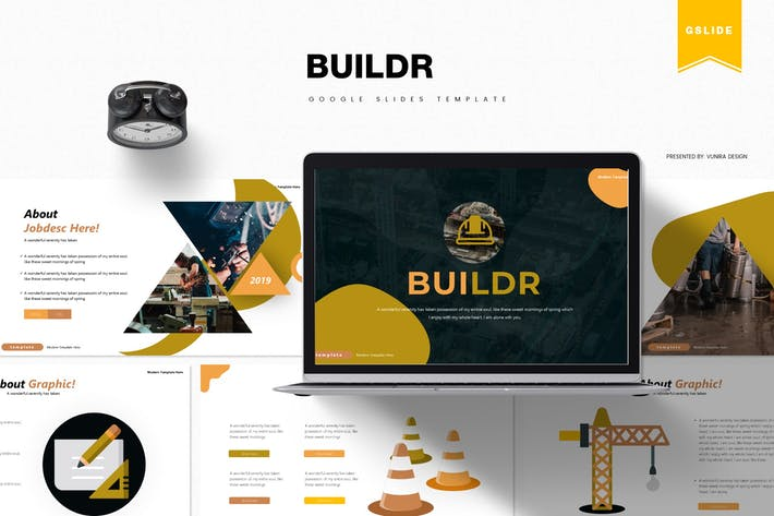 Thumbnail for Buildr | Google Slides Template