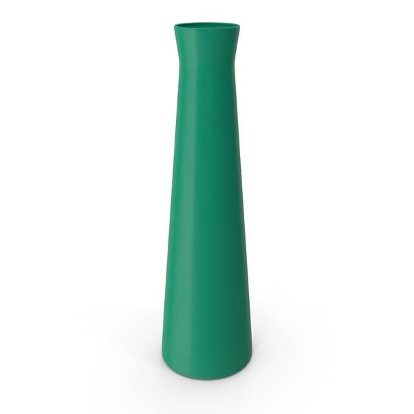 Vase Glossy Green