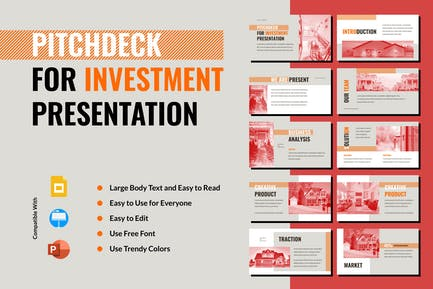 PCDC - Pitchdeck for Investment Presentation
