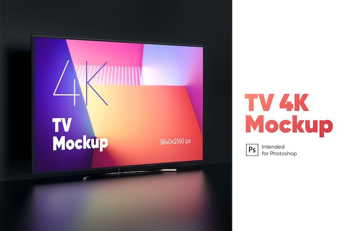 Thumbnail for TV 4K Mockup