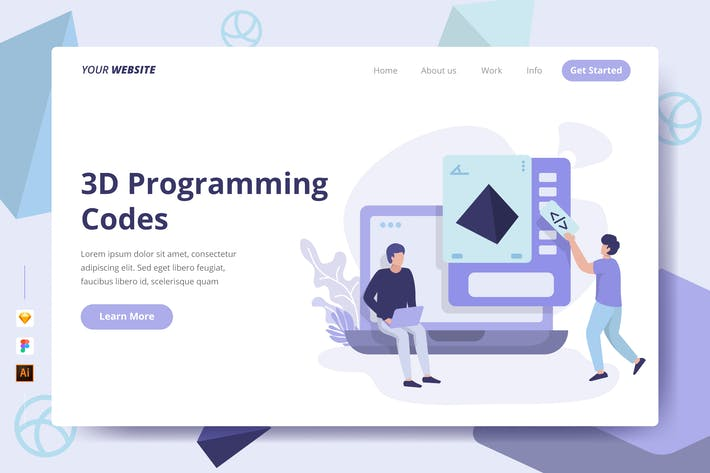 Thumbnail for 3D Programming Codes - Landing Page