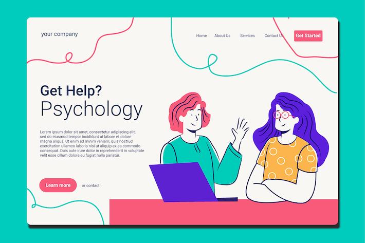 Psychology - Landing Page
