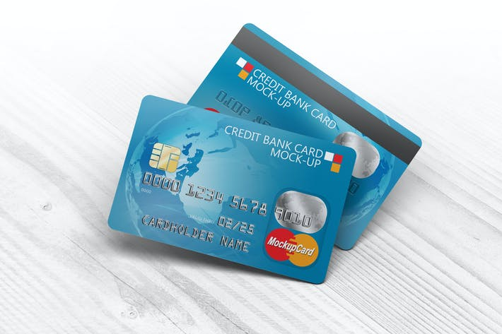 Thumbnail for Credit Bank Card Mock-Up
