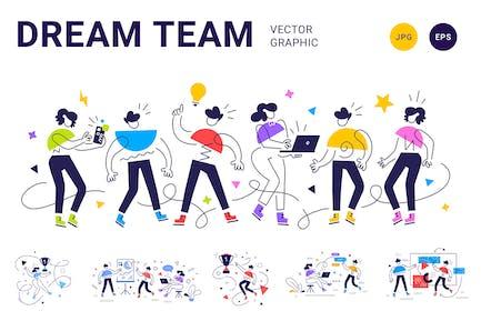 Geometric People Team