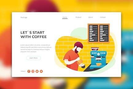 Coffee Barista Web Header