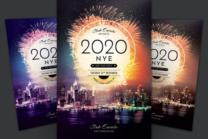 Cover Image For New Year Flyer